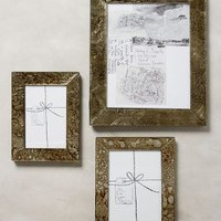 Handpainted Silver Frame by Anthropologie in Silver Size:
