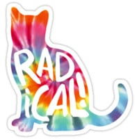 Radical Cat Tie Dye