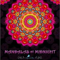Mandalas At Midnight A Relaxing Boho Adult Coloring Book