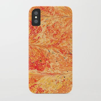 Orange juice iPhone Case by Printerium