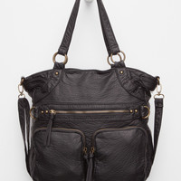 Under One Sky Hailey Tote Bag Black One Size For Women 27455410001