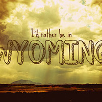 Wyoming Art Print by Melanie Ann | Society6