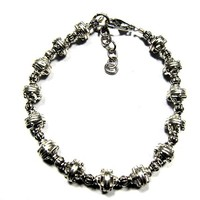 Mens Bracelet Hand Crafted Vintage Silver tone Chain Jewelry
