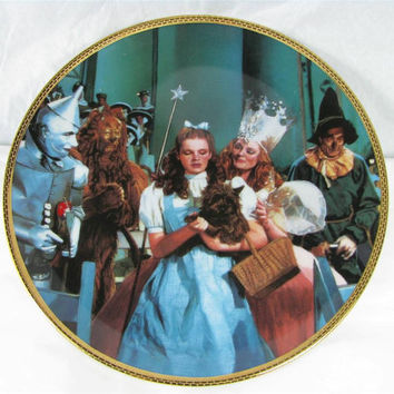 """1988 Hamilton Collection WIZARD OF OZ """"There's No Place Like Home"""" porcelain art #0088E"""