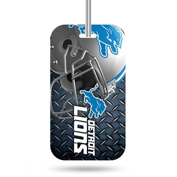 Detroit Lions Luggage Tag