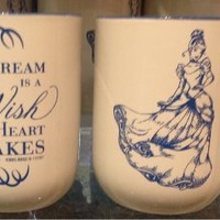 Disney Cinderella Coffee Mug A Dream is a Wish Your Heart Makes