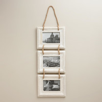 Whitewash Dylan Frames, Set of 3 - World Market