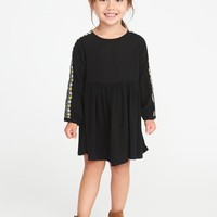 Embroidered Dress for Toddler Girls old-navy