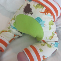 Dinosaur Monster Bunz  | Cloth Diaper Pants | Maxaloone Style Pants