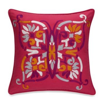 Anthology™ Zenya Butterfly Square Toss Pillow