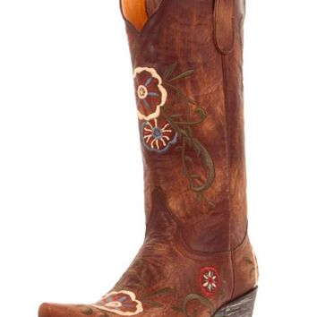 Old Gringo Tyler L585-5 Vesuvio Brass Leather Boots