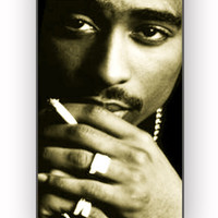 2pac tupac thug live for iPhone 4/4S Case **