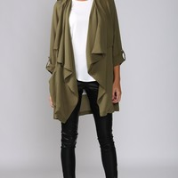 HelloMolly | Tribe Jacket Army Green - Tops