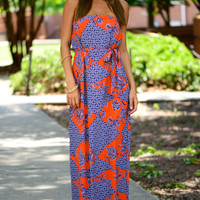 Top Of The Pyramid Maxi, Navy