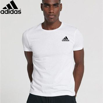 PEAP2Q new style adidas mens shirt sleeve t shirt 100 cotton top