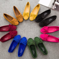 Trendy Fringe Loafer Driving Casual Shoes