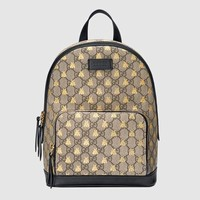 Gucci GG Supreme bees backpack