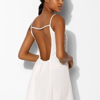 Oh My Love Gathered- Back Slip Dress - Urban Outfitters