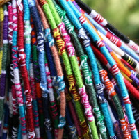 Threads of Hope Bracelets or Anklets! Handmade & Colorful!