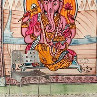 Ganesha Tapestry- Pink ALL
