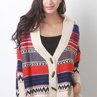 Cozy Tribal Cardigan