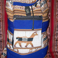 Peruvian Design Backpacks and Duffel-Bags.