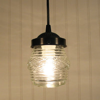 Portageburg Vintage Porch Light Made PENDANT New by LampGoods