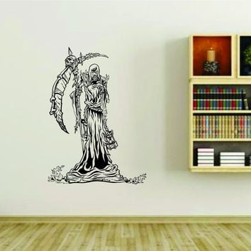 Grim Reaper Version 101 Vinyl Wall Decal Sticker