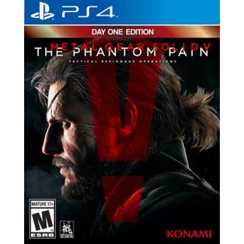 Metal Gear Solid V: The Phantom Pain - Day One Edition - PlayStation 4