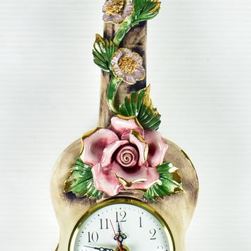 Capodimonte Wall Clock - Made in Italy