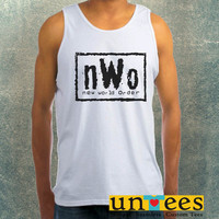NWO Logo New World Order Clothing Tank Top For Mens
