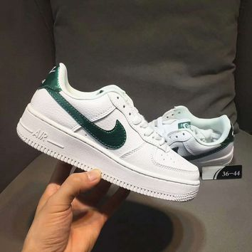 NIKE  Air force 1 Women Men Running Sport Casual Shoes Sneakers High quality White  H-CSXY