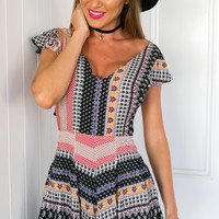 Lonely Roads Playsuit