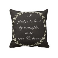 The Pledge Pillow from Zazzle.com