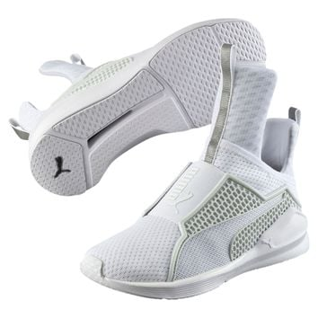 6e83b928828 New Women s Puma Fenty Trainer - 189695-02 - White Mesh Training