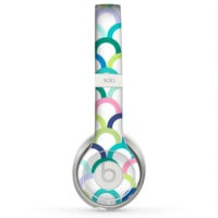 The Vibrant Fun Colored Pattern Hoops Skin for the Beats by Dre Solo 2 Headphones