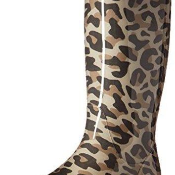 UGG Women's Shaye Leopard Rain Boot  UGG boots women waterproof