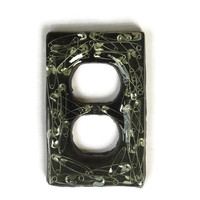 Safety Pin Double Outlet Cover / Plate