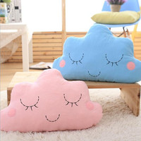Cute Cloud Cushion Pillow Toy Pillows Decorative Back Pillows for Sofa Office Nap Bolster