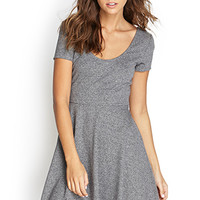 FOREVER 21 Heathered Skater Dress