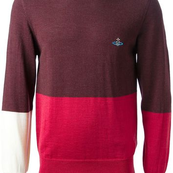 Vivienne Westwood colour block sweater