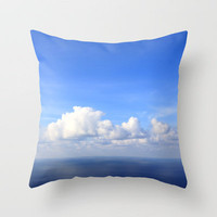 room with a view - day 1 Throw Pillow by findsFUNDSTUECKE (Steffi Louis) | Society6