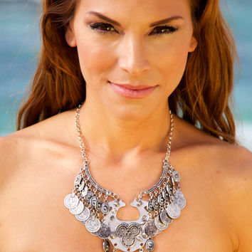 NOMAD HAWAII Penelope Necklace - Silver