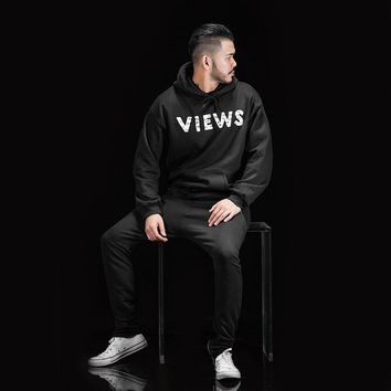 spbest VIEWS FROM THE 6 HOODIE AS WORN BY DRAKE