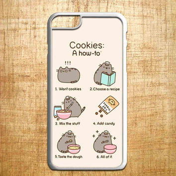 Pusheen cat cookies for iphone 4/4s/5/5s/5c/6/6+, Samsung S3/S4/S5/S6, iPad 2/3/4/Air/Mini, iPod 4/5, Samsung Note 3/4, HTC One, Nexus Case*IP*