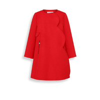 Red wool and cashmere coat - Dior