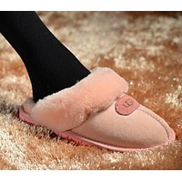 ugg fashion winter women flat warm snow ankle slipper shoes boots
