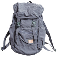 Nylon Packable Backpack - Grey