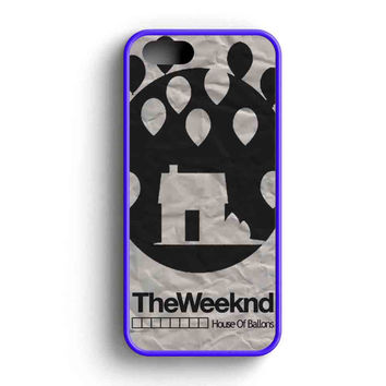 The Weeknd House Of Ballons Two iPhone 5 Case iPhone 5s Case iPhone 5c Case