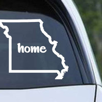 Missouri Home State Outline MO - USA America Die Cut Vinyl Decal Sticker